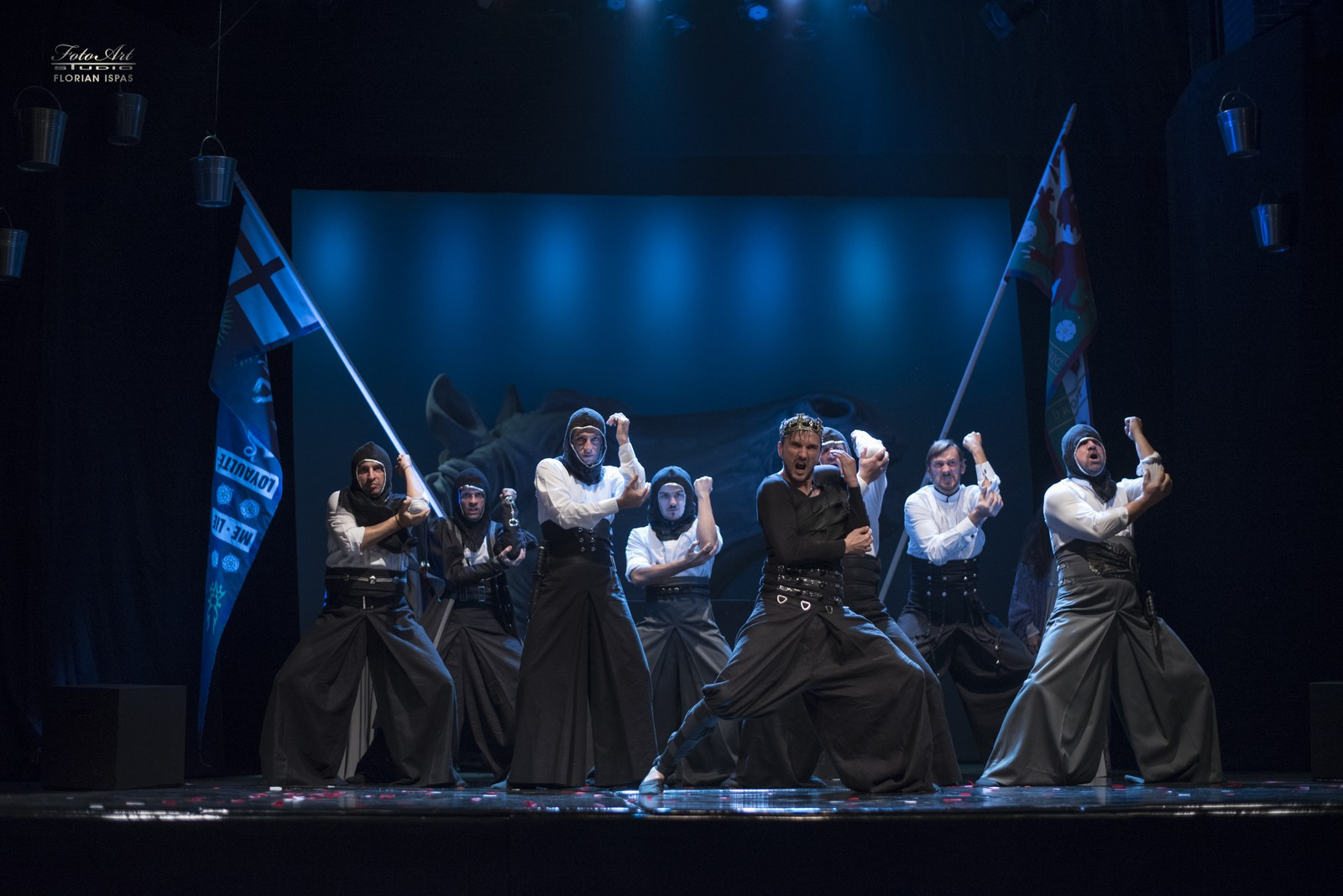 Richard al III-lea - scenografia: Mc Ranin